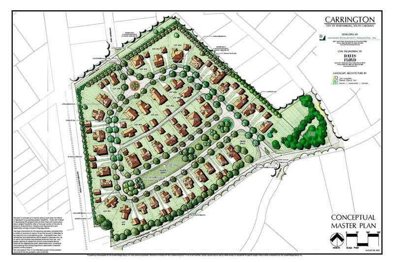 Community planning landart design group for Carrington plan